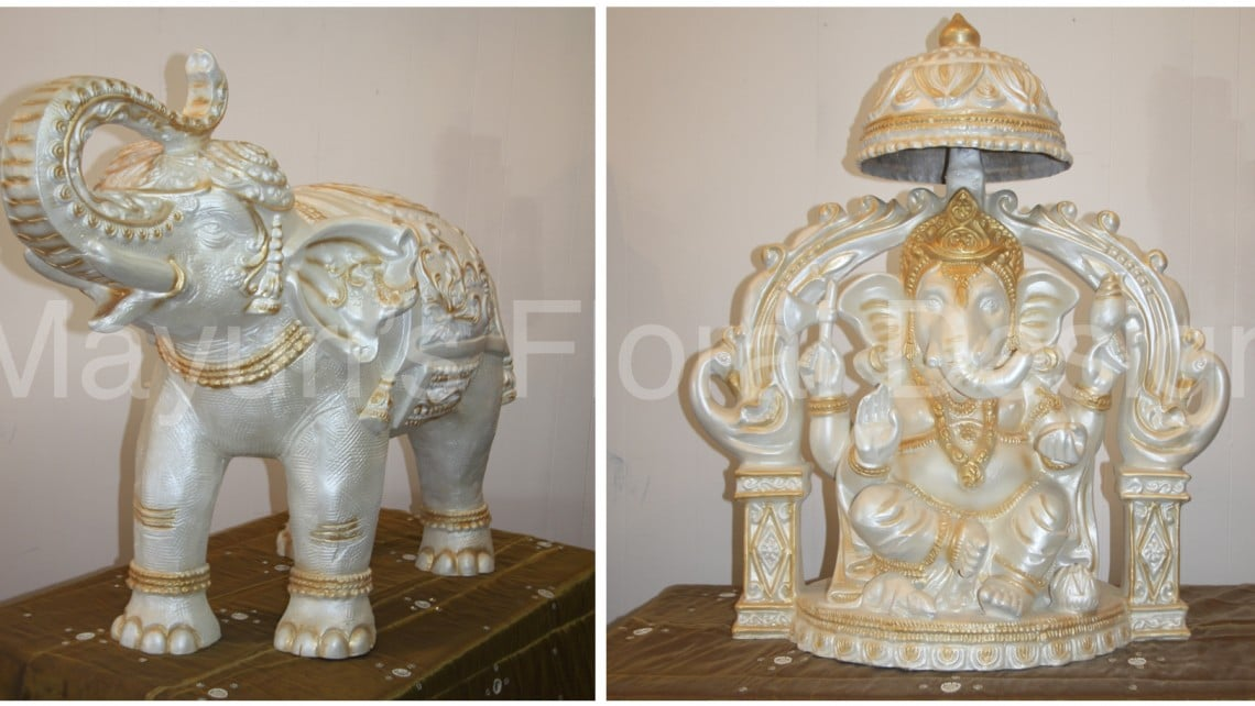 Elephant-Ganesh-entrance-indian-wedding-ceremony