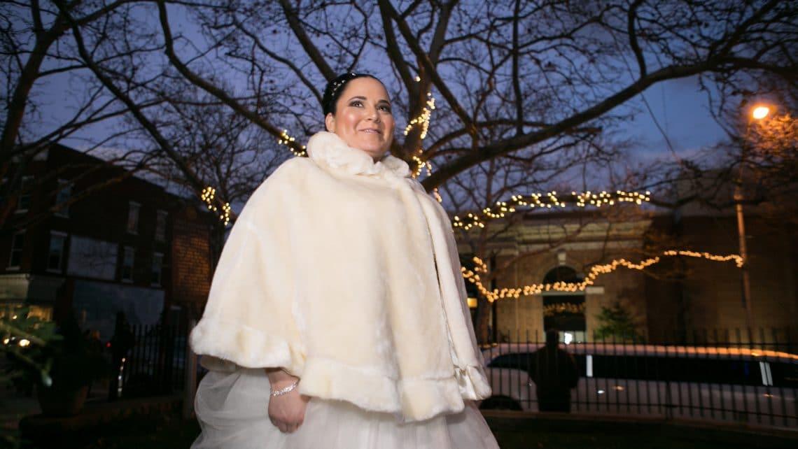 Winter Wedding Rockland County Florist Draping Planning