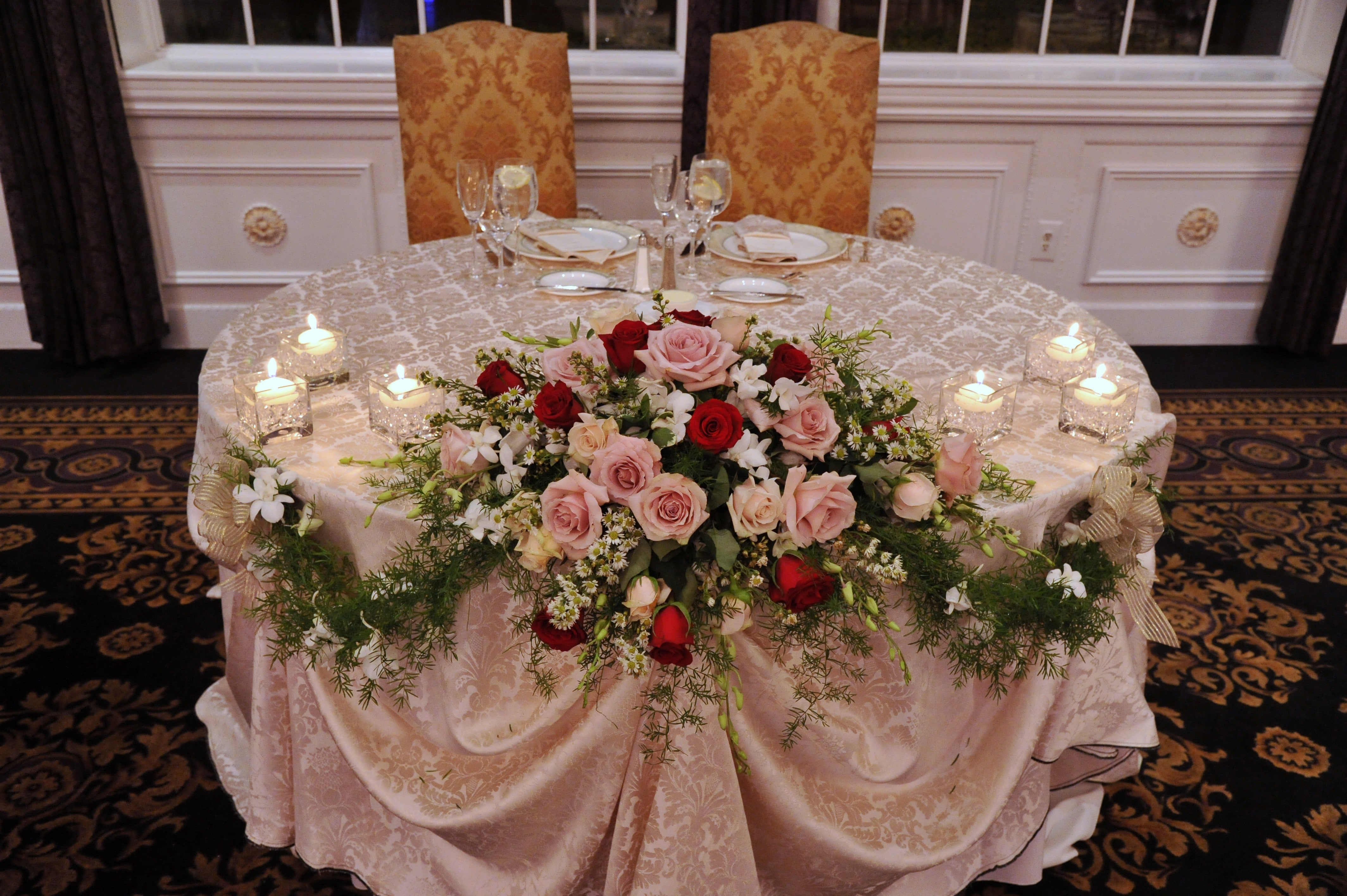 sweetheart head table events by mayuri