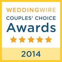 Wedding Wire Couples Award 2014