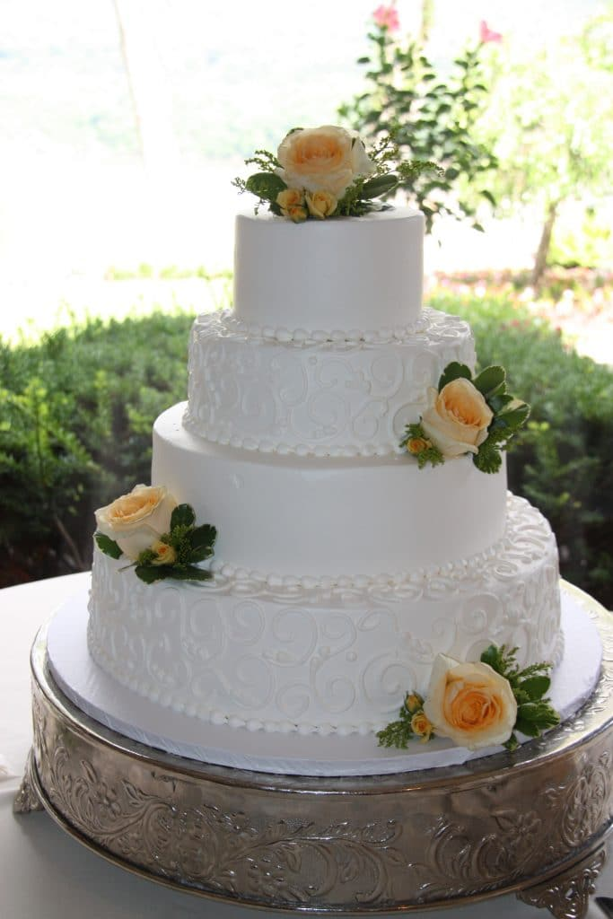 Wedding Cake Flowers Thayer Hotel Hudson Valley Wedding Planning Reception 4th of July