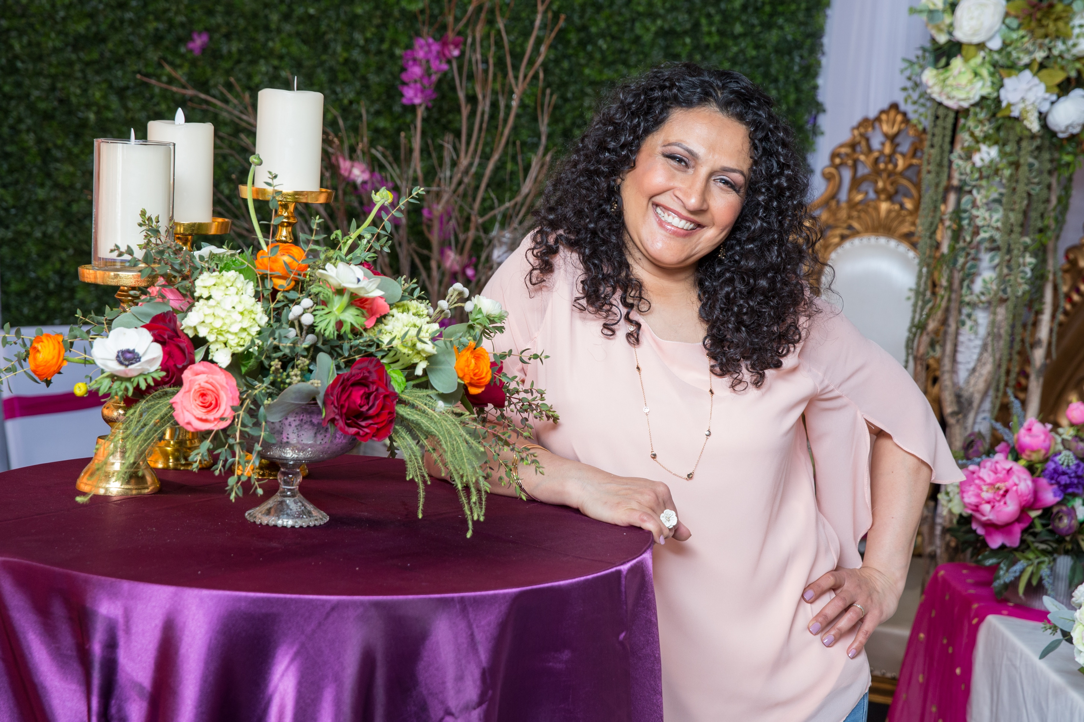An Interview With A Florist Mayuri Parikh Events By Mayuri